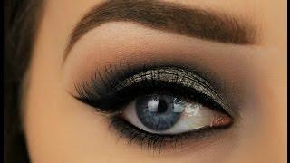 Metallic Grey Smokey Eye   Night Out Makeup