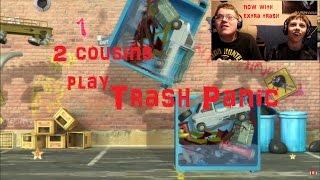 Giant Garbage Can - Cousins Clash Gaming - Trash Panic