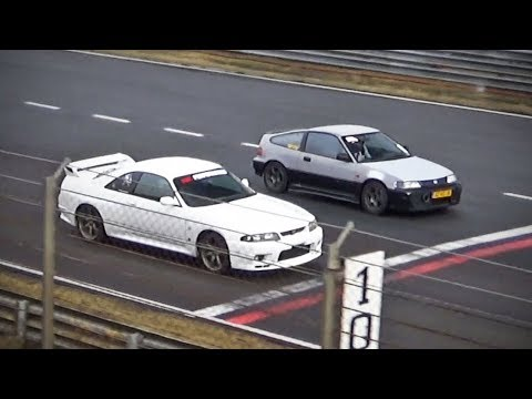 The little CRX that could - (vs. Skyline GT-R)
