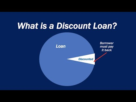 What Is A Discount Loan?