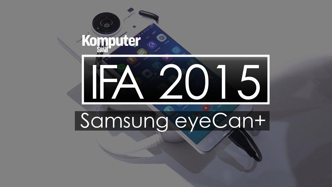 Samsung eyeCan+ - sterowanie smartfonem za pomocą... głowy -IFA 2015