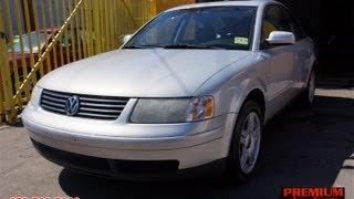 2000 Volkswagen Passat GLX 30V V6 Sedan