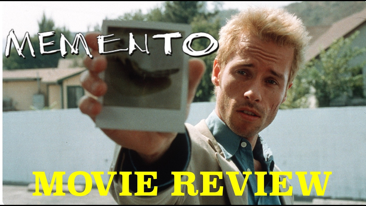 memento film review Memento movie review from christopher nolan staring guy pearce, carrie-anne moss, joe pantoliano thriller memento film review by logan and glitz.