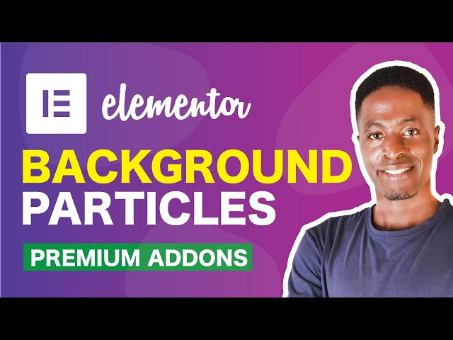 Premium Particles Section: Add Particle Backgrounds to Elementor Sections