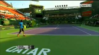 Mousa Zayed vs Andy Murray - ATP 250 Doha 2014 Highlights
