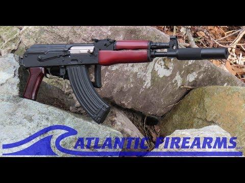 Draco Ak47 Rifle Folder W Red Wood Furniture Set At Atlantic