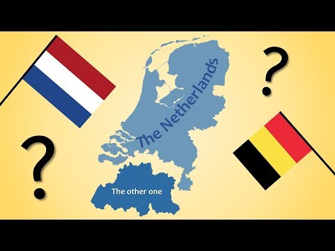 The Netherlands, Holland and The Low Countries - The Differe