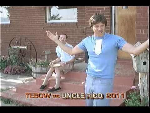 Funny Memes For Uncles : Tebow vs uncle rico 2011 youtube