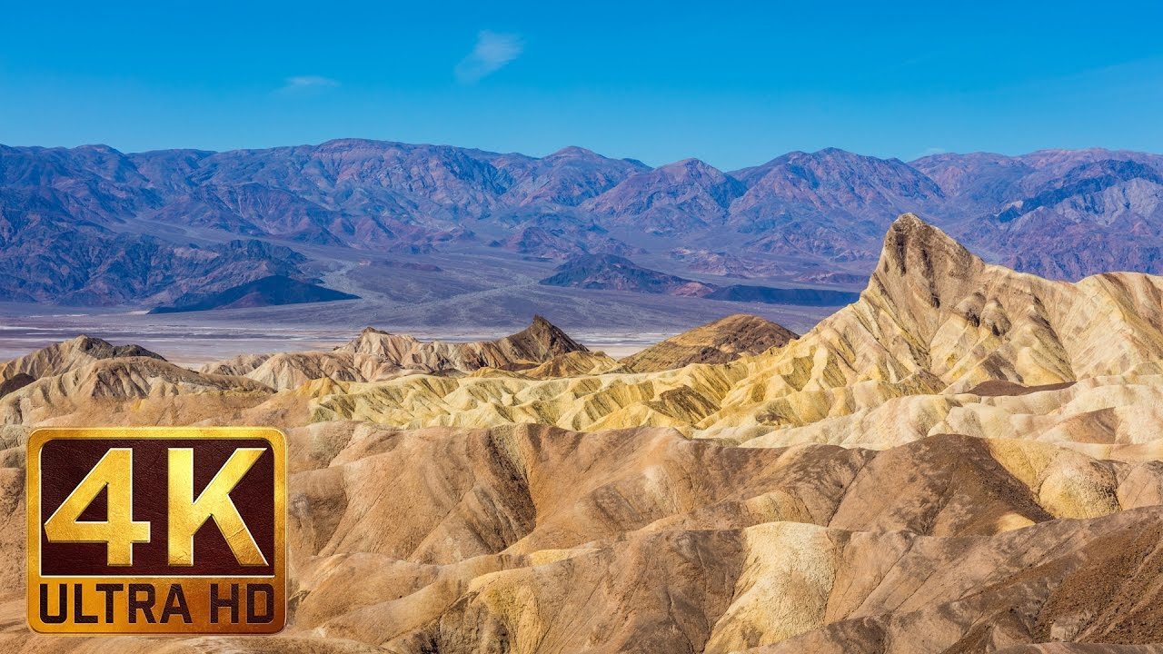 death valley national park nature documentary film in 4k trailer