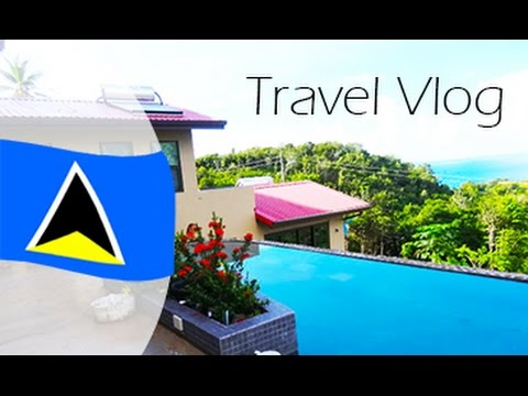 St  Lucia Travel Vlog!!