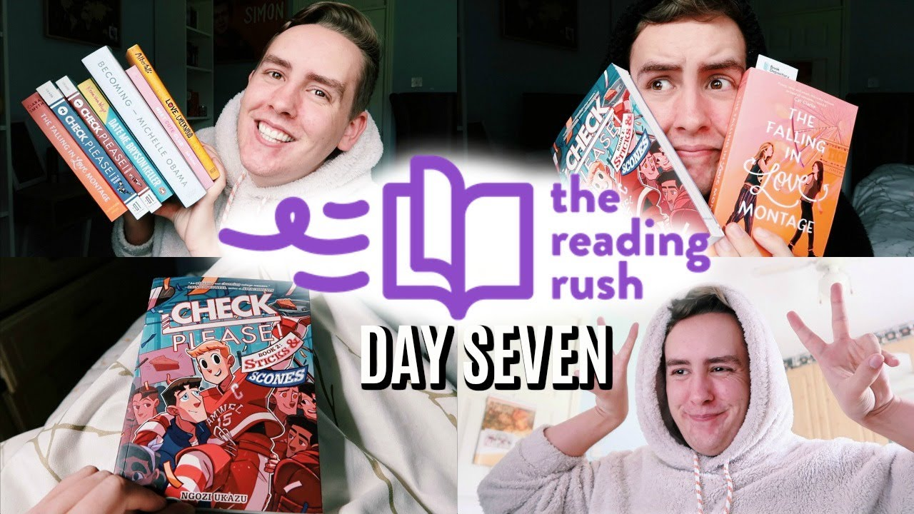 I WON THE READING RUSH AND READ 7 BOOKS | READING RUSH DAY SEVEN VLOG