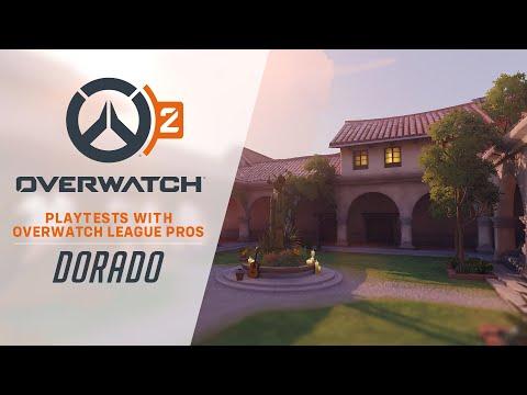 Overwatch 2 Playtests with Overwatch League Pros | Dorado