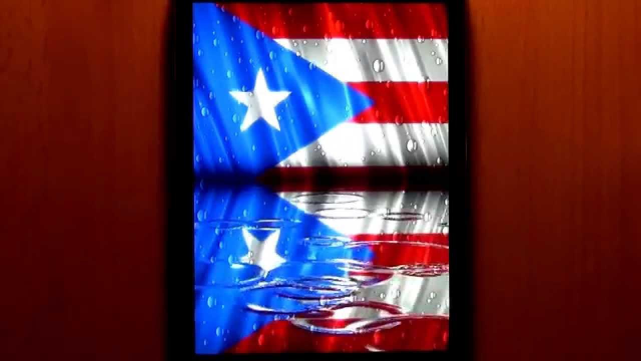Raindrop Flag Puerto Rico Youtube