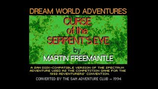 Curse of the Serpent