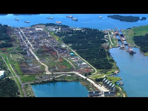 panama canal  (Engineering's marvel).- How it works?? (Hindi)