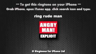 Ring Cunt Ring Explicit Rude Angry Man Ringtone