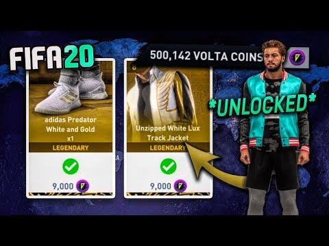 Unlocking *ALL* Items In FIFA 20 VOLTA Shop! (500,000 Coins In Volta)