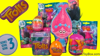 Dreamworks Trolls Easter Chocolate Poppy Surprise Tins Series 3 Blind Bags Egg Capsule Branch Toys