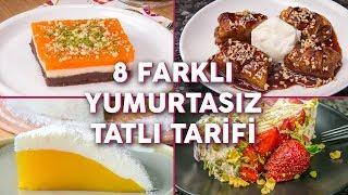 8 Farklı Yumurtasız Tatlı Tarifi  Tatlı Tarifleri  Yemekcom