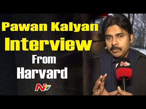 Pawan Kalyan Interview at Harvard || Warns Centre over Special Status || USA Trip || NTV