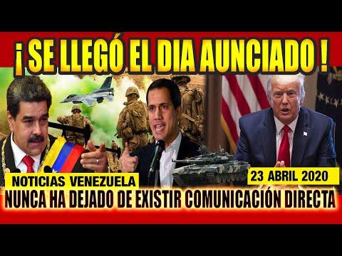 🔴 Noticias DE HOY VENEZUELA 23 DE ABRIL 2020, ULTIMAS NOTICIAS DE VENEZUELA, NOTICIAS DE HOY JUEVES