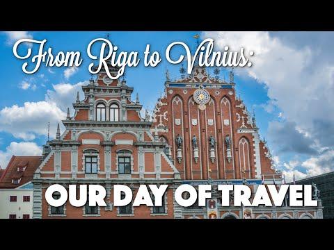 Travel Day to Vilnius: Vlog #1