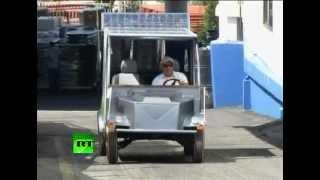 Палестинцы собрали автомобиль на солнечных батареях