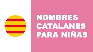 Nombres catalanes para niña