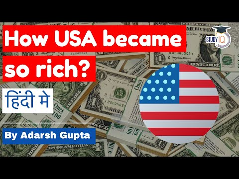 How did America become so rich? Economic history of USA explained in Hindi by Adarsh Gupta