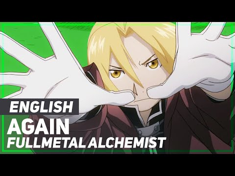 Fullmetal Alchemist OP  Again  ENGLISH ver  AmaLee
