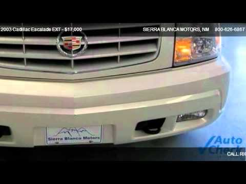 2003 Cadillac Escalade Ext For Sale In Ruidoso Nm 88355