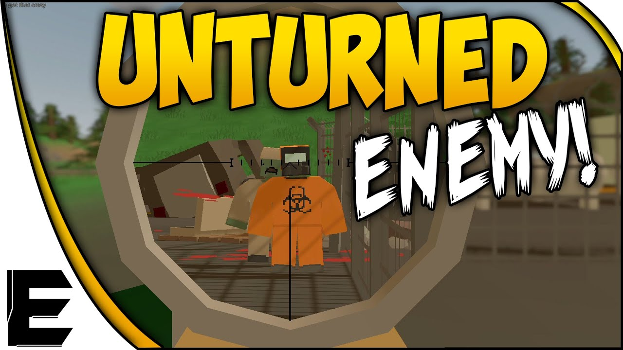 Unturned Adventures Enemy In Everett Washington Map Youtube