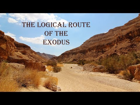 Logical Route Of The Exodus