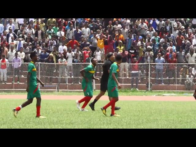 ethiopian RONALDINHO playing with Ethiopian national team under 20