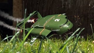 reliving my childhood thunderbirds in the garden