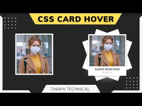 🔴 Advanced CSS Card Hover Effect With FREE Code in 2021