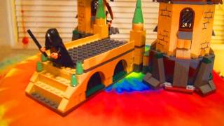 Lego Harry Potter Hogwarts Castle Toy Review 4867 + How To Create Hermione Custom Build