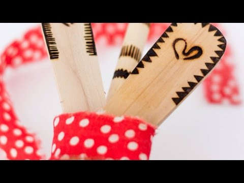 How To Make and Use Custom Wood Burning Tools - DIY Crafts Tutorial - Guidecentral
