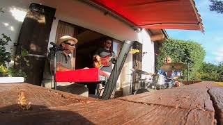 """African Song -  Moncef Genoud Trio live at  """"Chez Laposte"""" (15.08.2020)"""