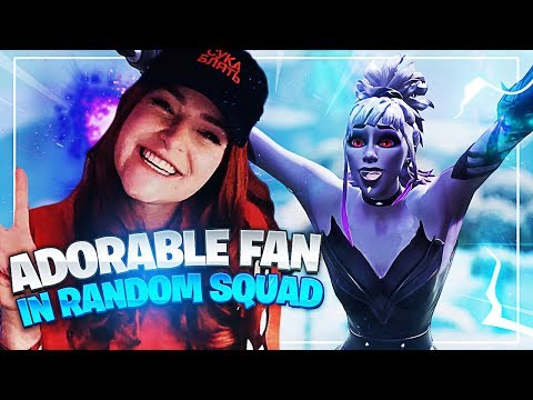 ADORABLE FAN FINDS OUT IM IN HIS GAME! (Fortnite: Battle Royale)   KittyPlays
