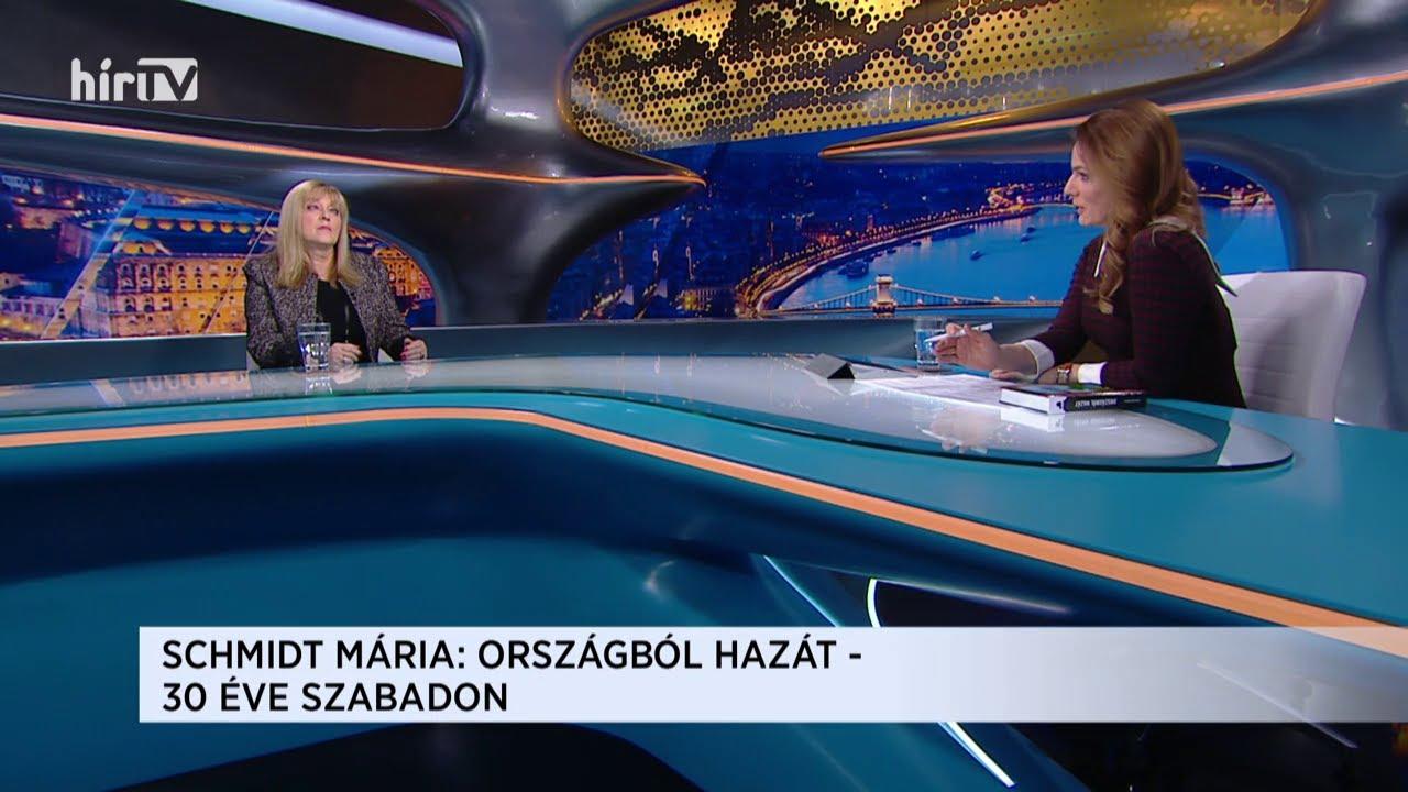 Magyarország élőben Schmidt Máriával