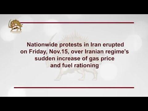 Iran Protests: Nationwide Uprising in Iran- November 2019