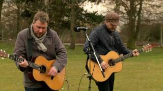 Doves perform' Kingdom of Rust' live at Jodrell Bank
