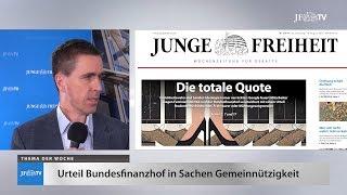 Ein Blick in die neue JF (34/17): Kommt die totale Quote?
