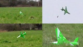 T2M GREEN THUNDER Crash