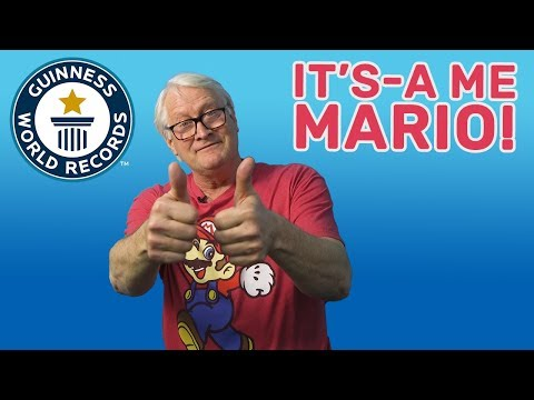 Charles Martinet: It's-A Me, Mario! - Meet The Record Breakers