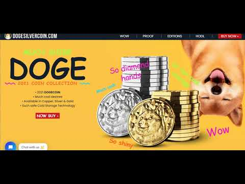 2021 Crypto Dogecoin 1 oz Silver [by Blockchain Mint]
