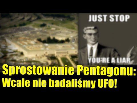 """Pentagon idzie w zaparte! """"Wcale nie badaliśmy UFO!"""""""