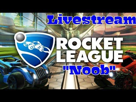 Rocket League: Noob Gameplay  €Sponsor Goal 2/5€   {Interactive Stream}