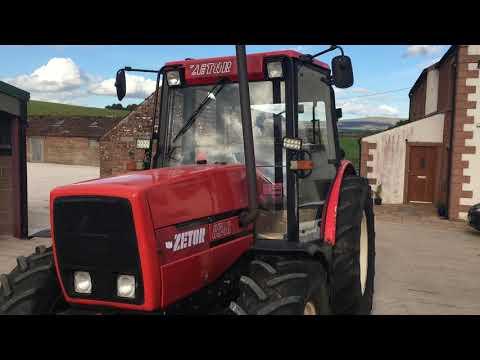 Zetor 8540, D\u0026A Kidd LTD, Www.dandakidd.co.uk